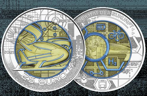 Symbolbild 25-Euro-Münze