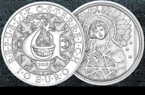 10 Euro Coin in Silver