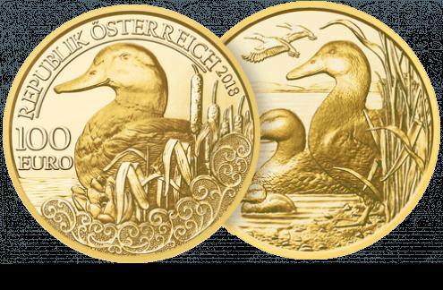 Symbolbild 100-Euro-Goldmünze