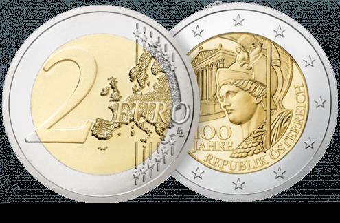 Exemplary 2 Euro Coin