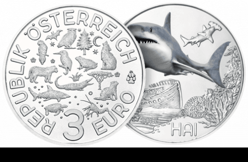 Beispiel 3-Euro-Münze