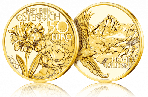 Goldmünze Symbolbild