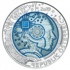 silver niobium coin artificial intelligence
