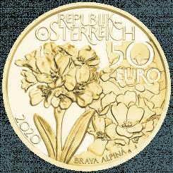 50 Euro Goldmünze Am höchsten Gipfel