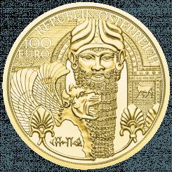 100 Euro Das Gold Mesopotamiens Avers