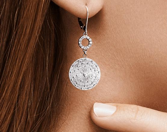 Jewellery love motif