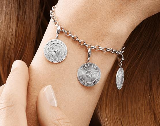 Bracelets in silver