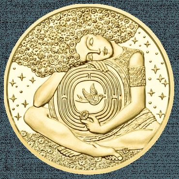 50 Euro Gold coin Viktor Frankl reverse