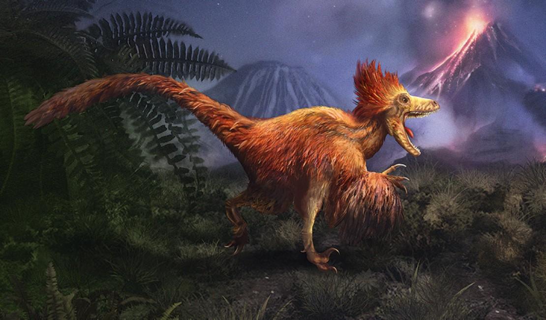 Sliderbild Deinonychus der 3-Euro-Münzen-Serie Supersaurier