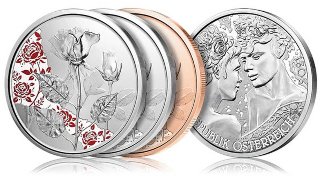 Blumenmünzen Serien-Abo