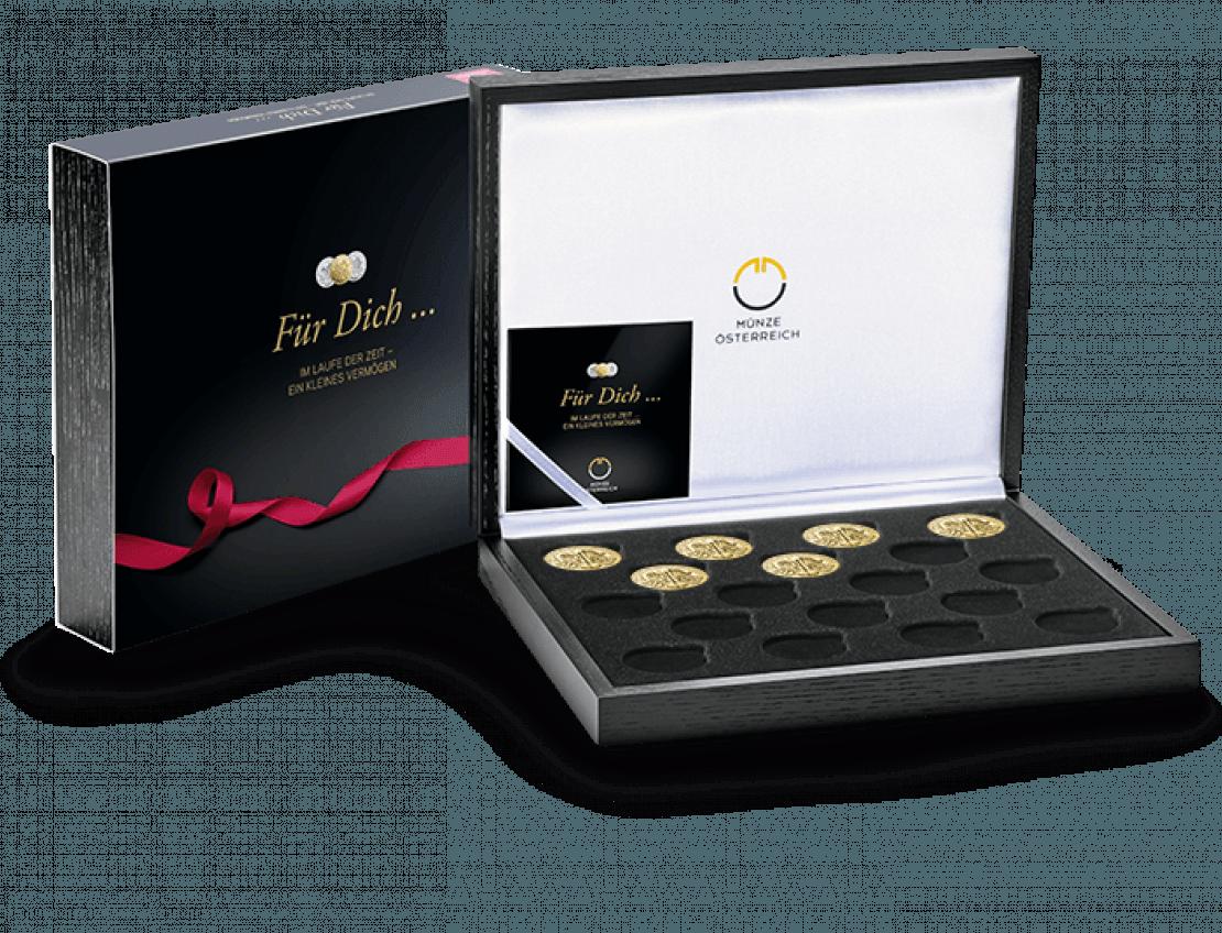 Goldsparplan als Geschenk