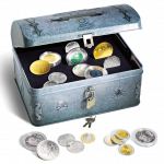 Treasure chest for Coins