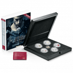 collector case for the series Knights tales, including a Viennese penny