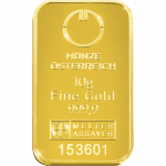 10 gramme gold bar