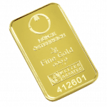 2 gramme gold bar