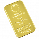 50 gramme gold bar