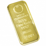 500 gramme gold bar