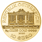 Vienna Philharmonic Gold 1/10 ounce