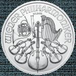 Wiener Philharmoniker Silber Rückseite