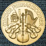 Wiener Philharmoniker Gold Rückseite