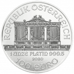Vienna Philharmonic Platinum 1 ounce
