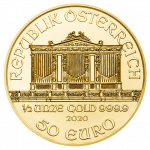 Vienna Philharmonic Gold 1/2 ounce