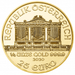 Vienna Philharmonic Gold 1/4 ounce