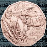 5-euro coin 2015 Austrian army revers