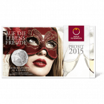 5-euro coin 2015 The Fledermaus Blister