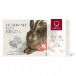 5 euro coin 2016 Dürer The Rabbit Blister