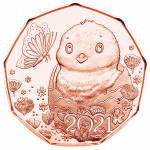 2021 Easter Coin