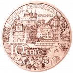 10-euro coin 2013 Niederoesterreich copper avers