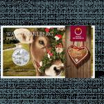 10-euro coin 2013 Vorarlberg Blister