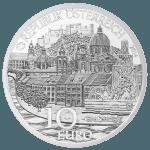 10-euro coin 2014 Salzburg avers