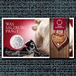 10 Euro coin 2014 Salzburg Blister