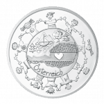 10-euro coin 2016 Oesterreich revers
