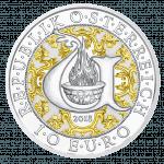 10 Euro Uriel, silver, proof, AV