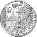 10-euro coin Basilisk avers