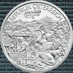 10-euro coin 2010 Erzberg avers