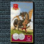10-euro coin 2011 Lindwurm blister