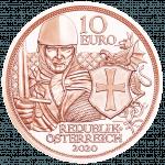 10 Euro copper coin Courage