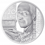 20-euro coin 2013 Stefan Zweig avers