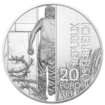 20-euro coin 2014 iron curtain avers