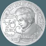20-euro coin 2016 Mozart avers