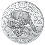 20-euro coin 2014 tertiary avers