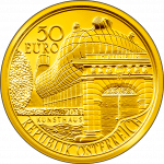 50-euro gold coin 2011 Joanneum obverse