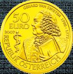 Goldmünze Gerard van Swieten