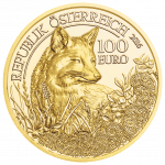 Gold Coin The Fox