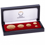 Collector Case Vienna Philharmonic gold coins