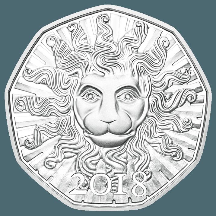 Neujahrsmünze 2018 Löwenkraft In Silber